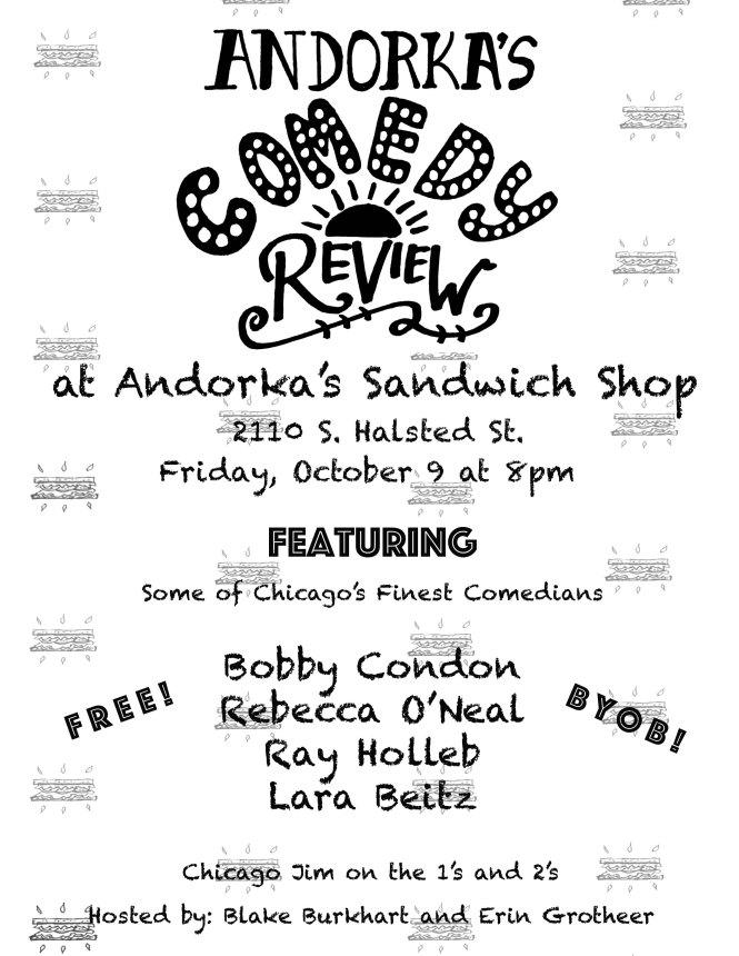 October ASS Comedy Flyer copy